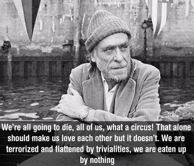 "Charles, bukowski,""s (Author of Post Office)"