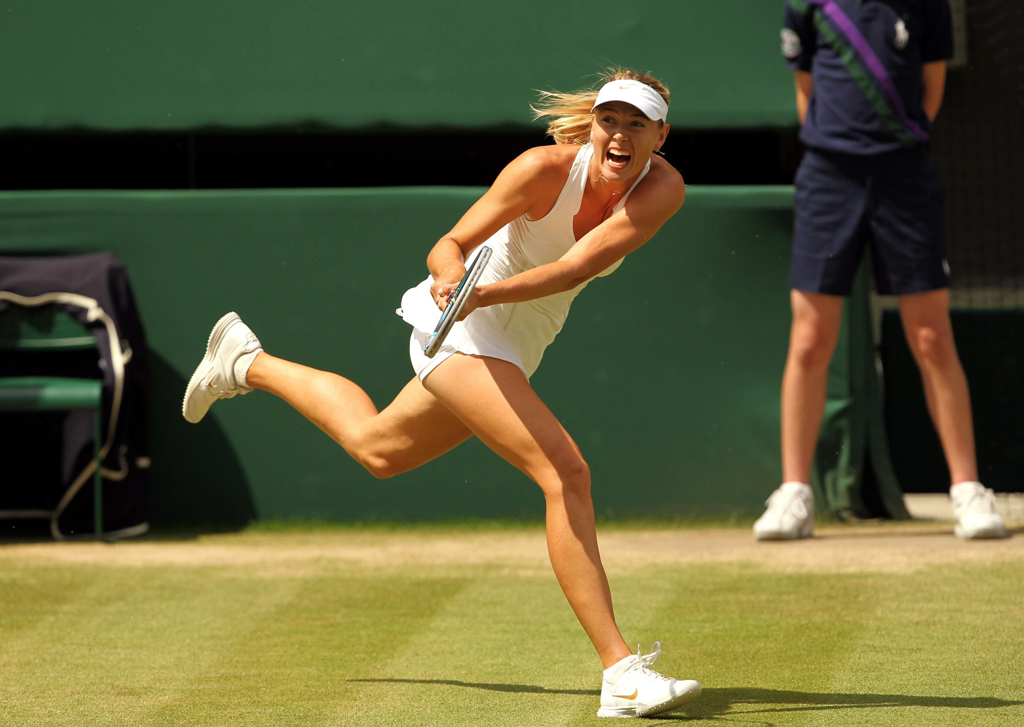 Maria sharapova photos wimbledon 2018 Wimbledon 2018: Maria Sharapova returns to London but is at a