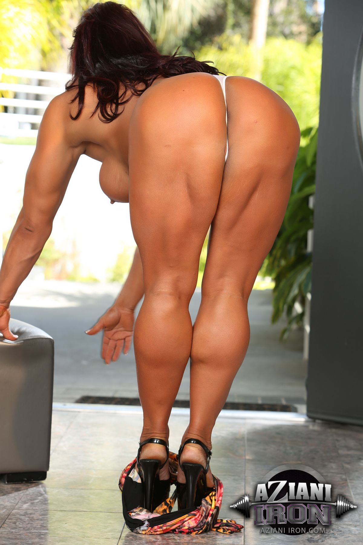 Outdoor sex Amber deluca fucked watching her