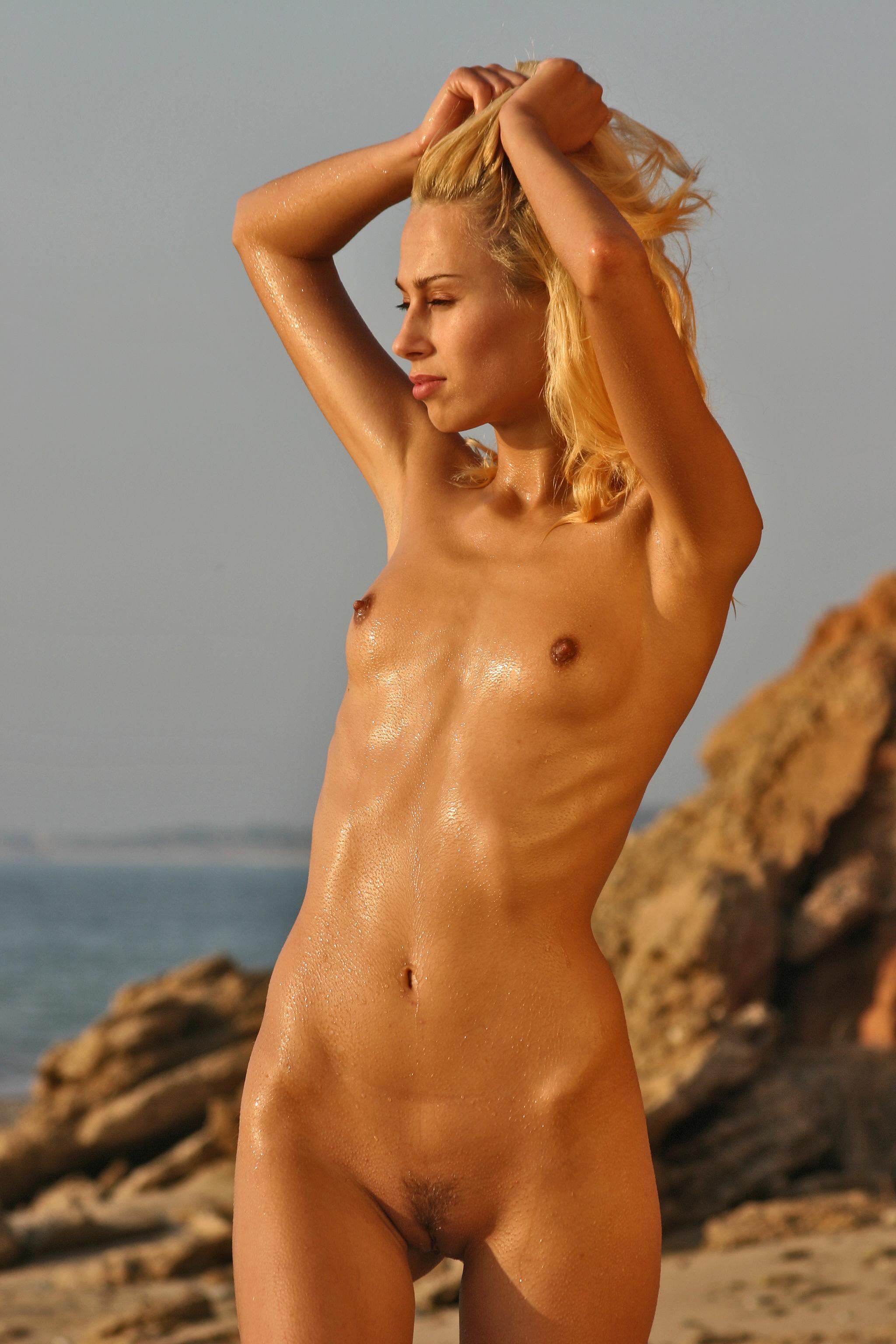 nude beach beauty pagent