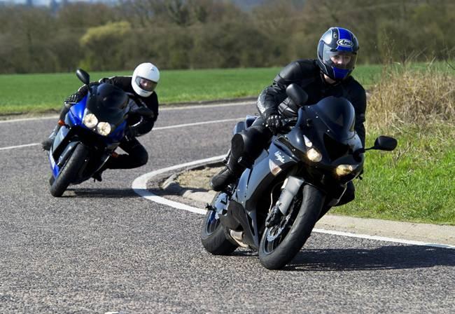 Motorbike curve 2