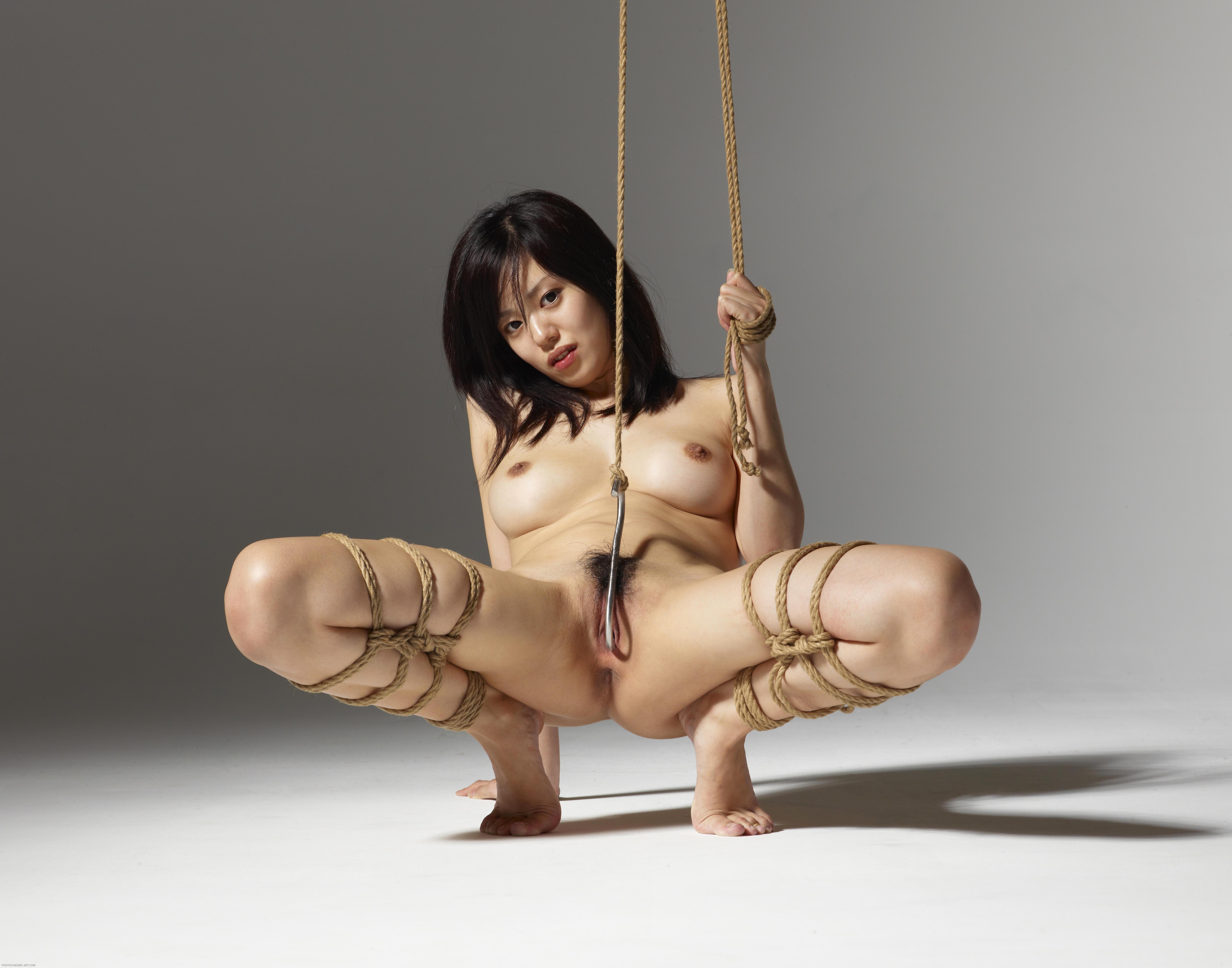 Cage babe bondage