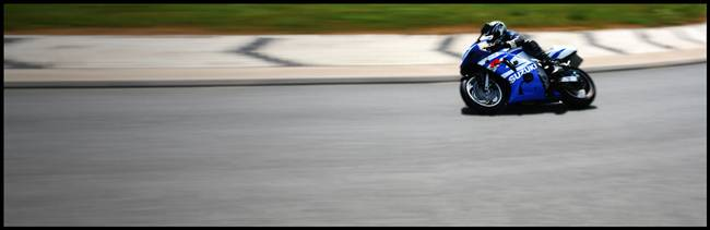 Motorbike curve 1