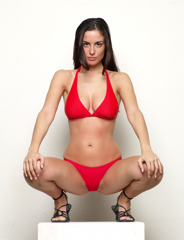 Muriel Red Bikini 70