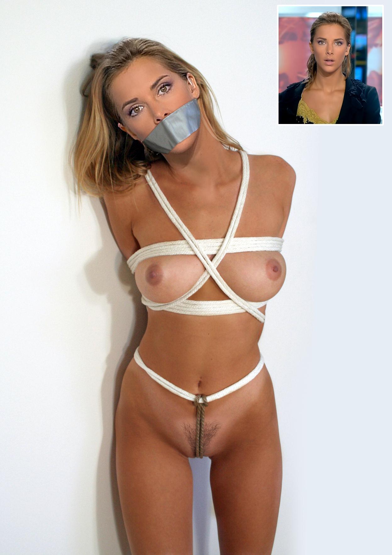 naked busty nerdy girl