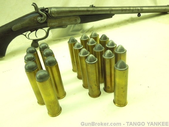 8 bore with shells
