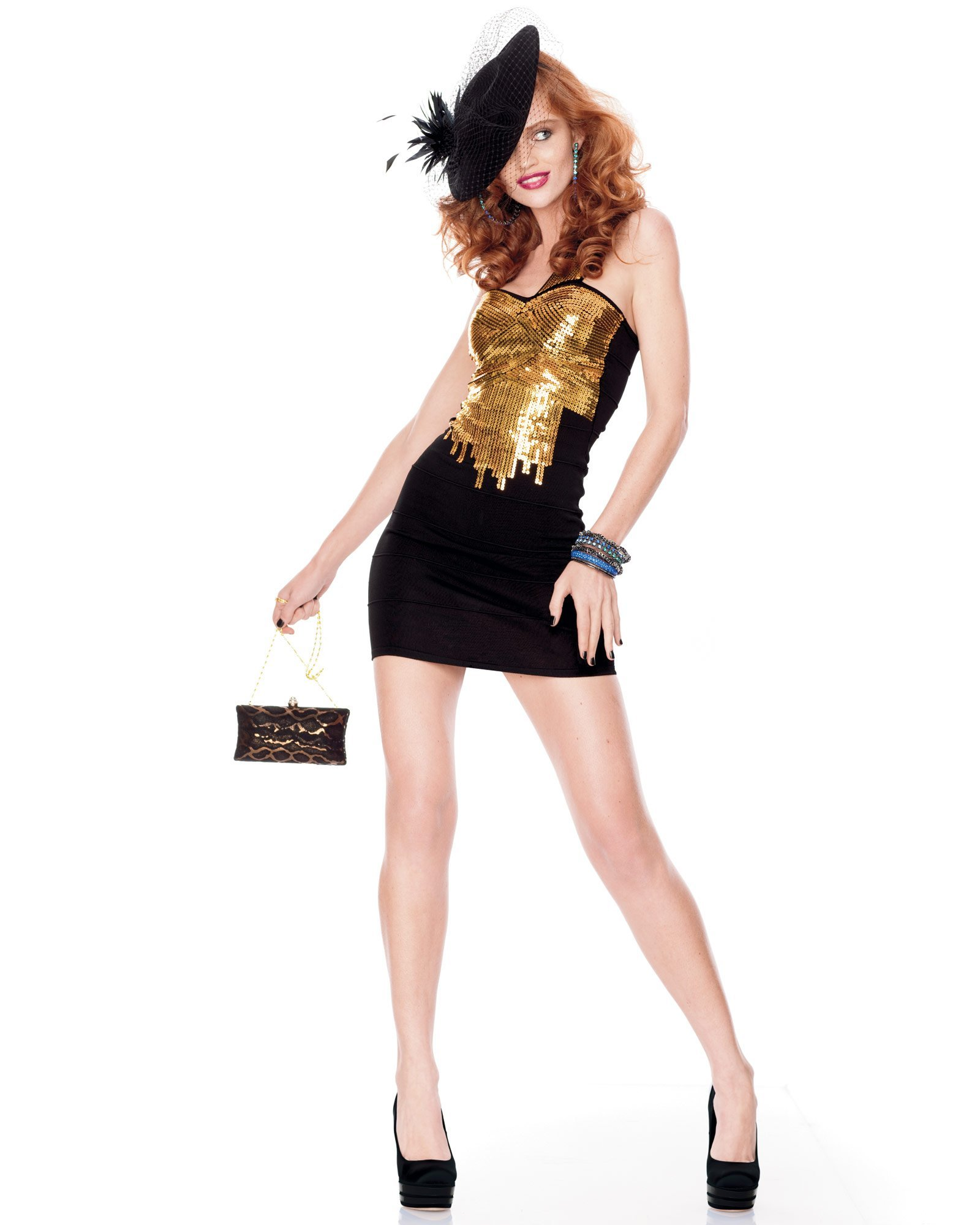 BEBE Oct 2011 Own The Night Look Book 7