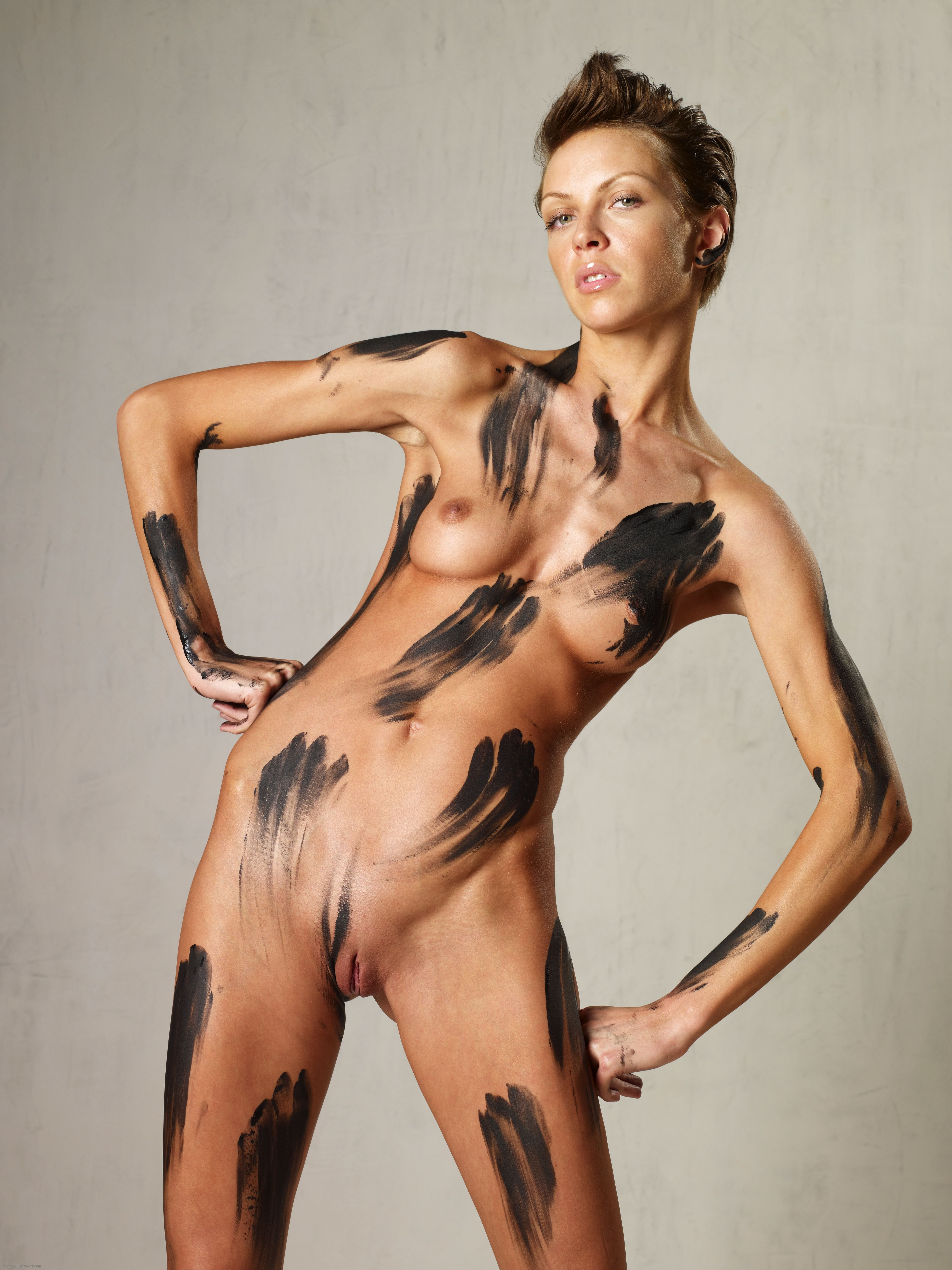 Final, sorry, Body paint nude girls