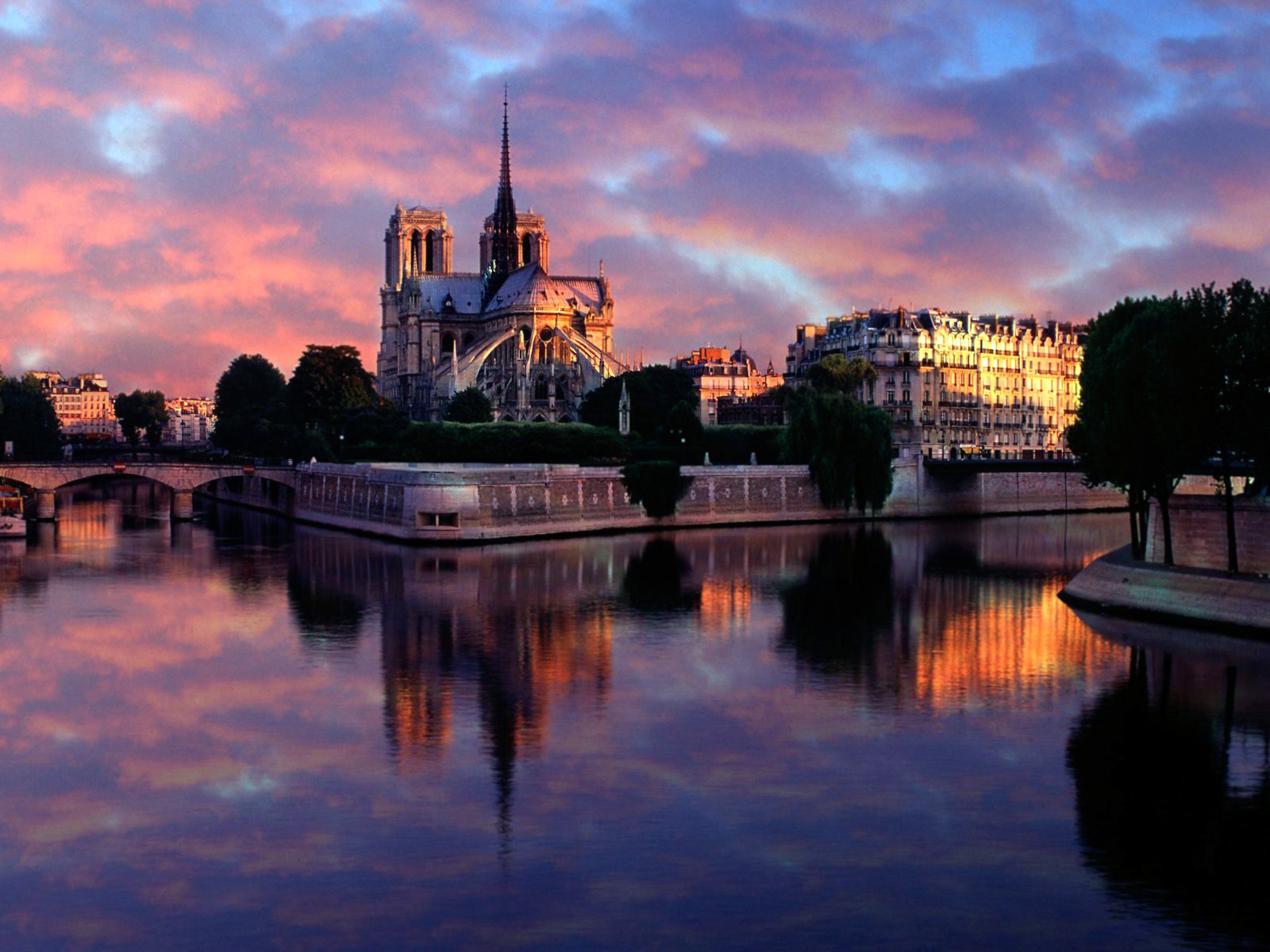 Notre Dame at Sunrise 3 Paris 5 France