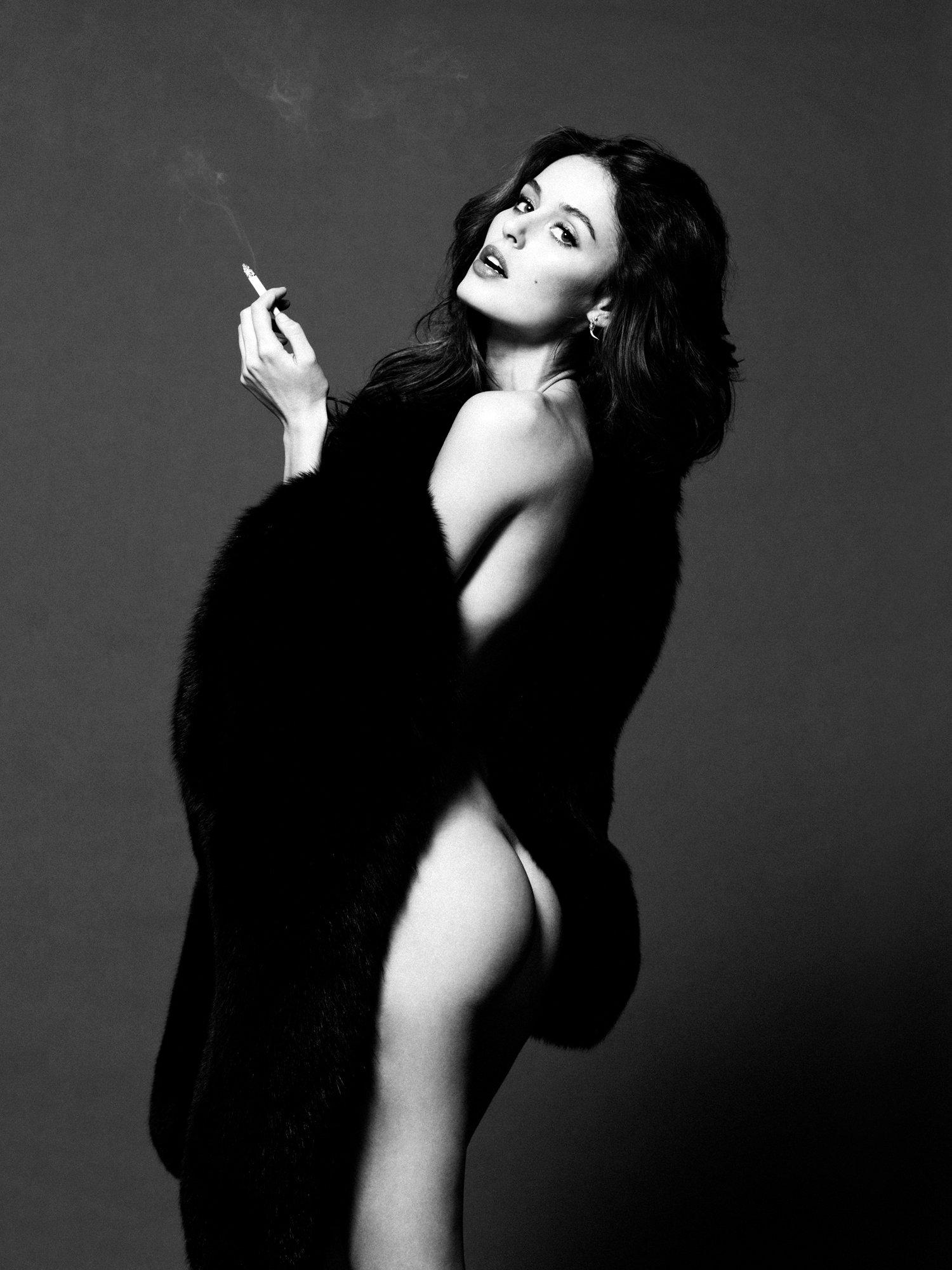 Nicole Trunfio фото для журнала LoveCat Magazine.
