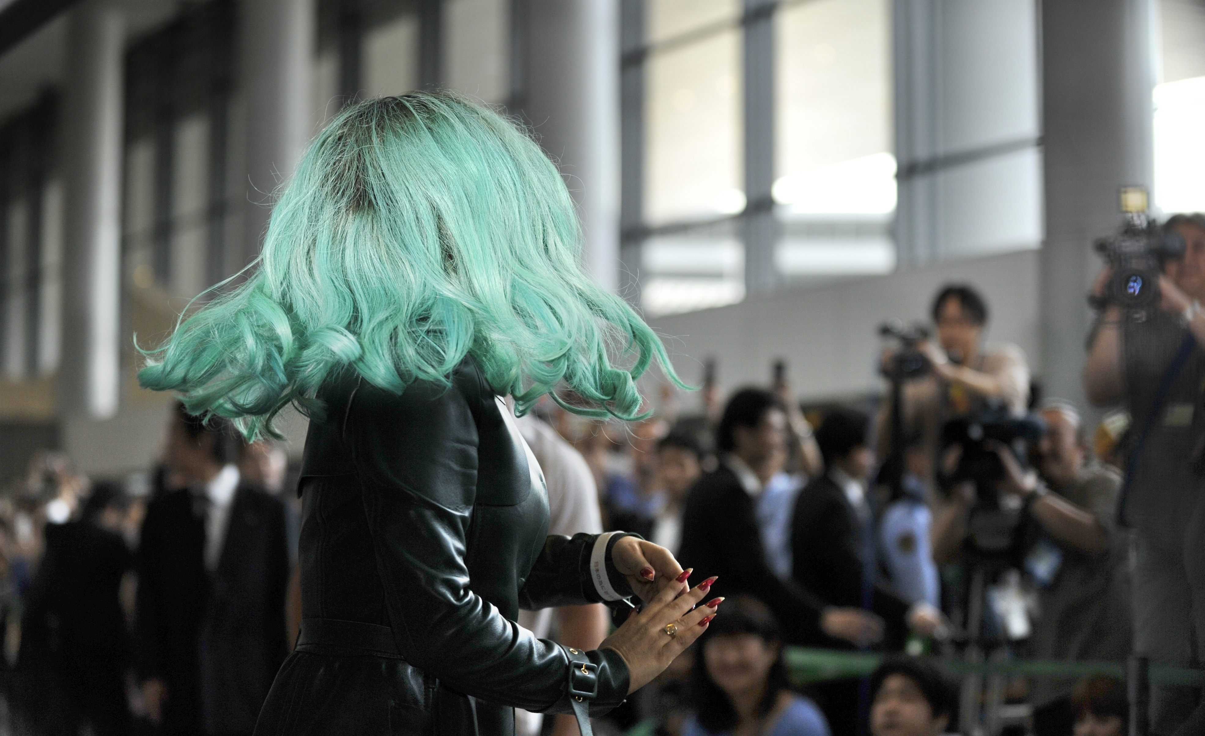 Tikipeter Lady Gaga arrives in Tokyo 018