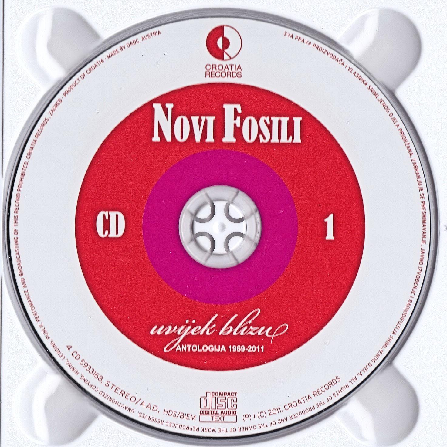 Novi Fosili 2011 Antologija 69 11 cd 1