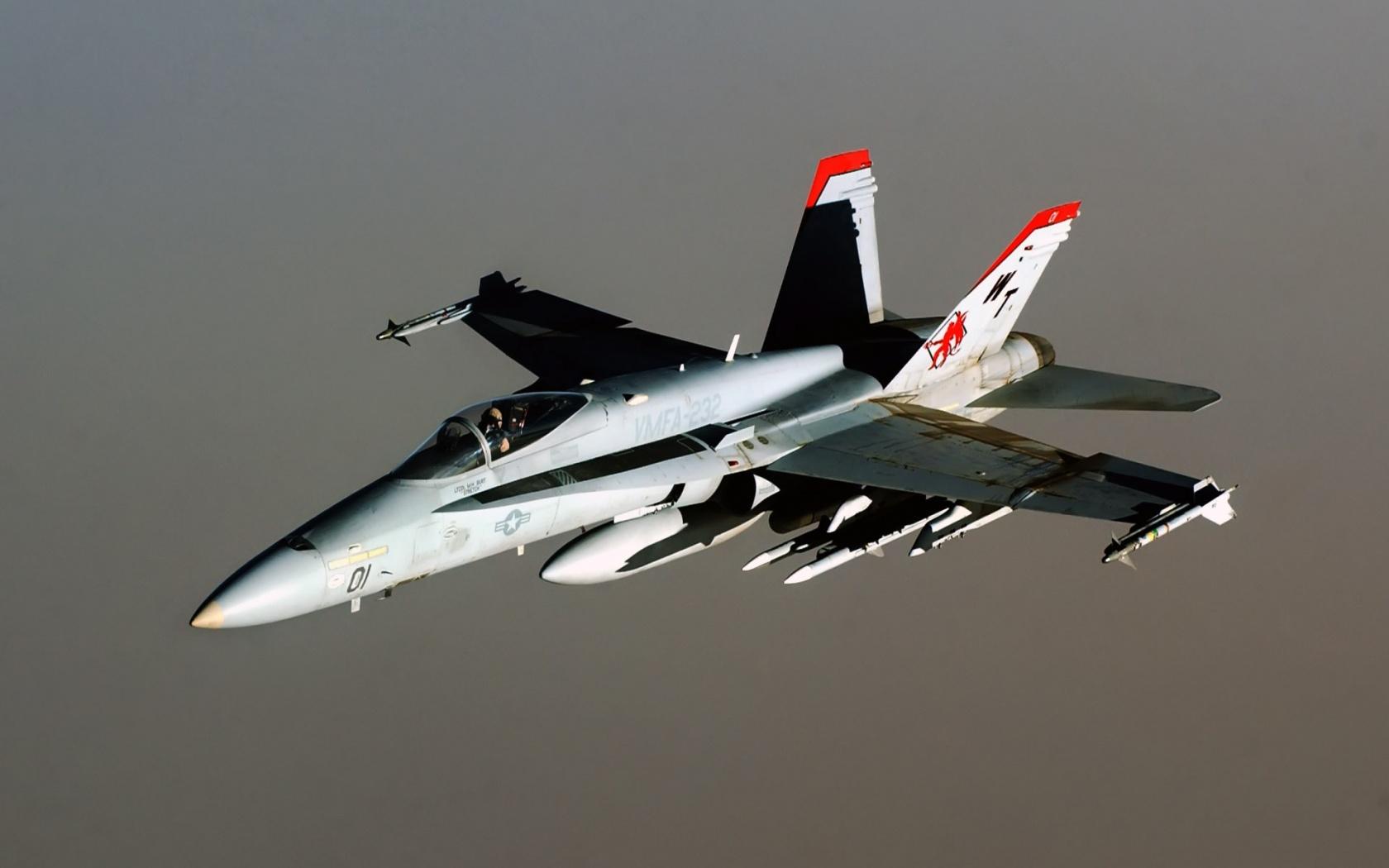 fa 18 hornet aircraft 1680 x 1050