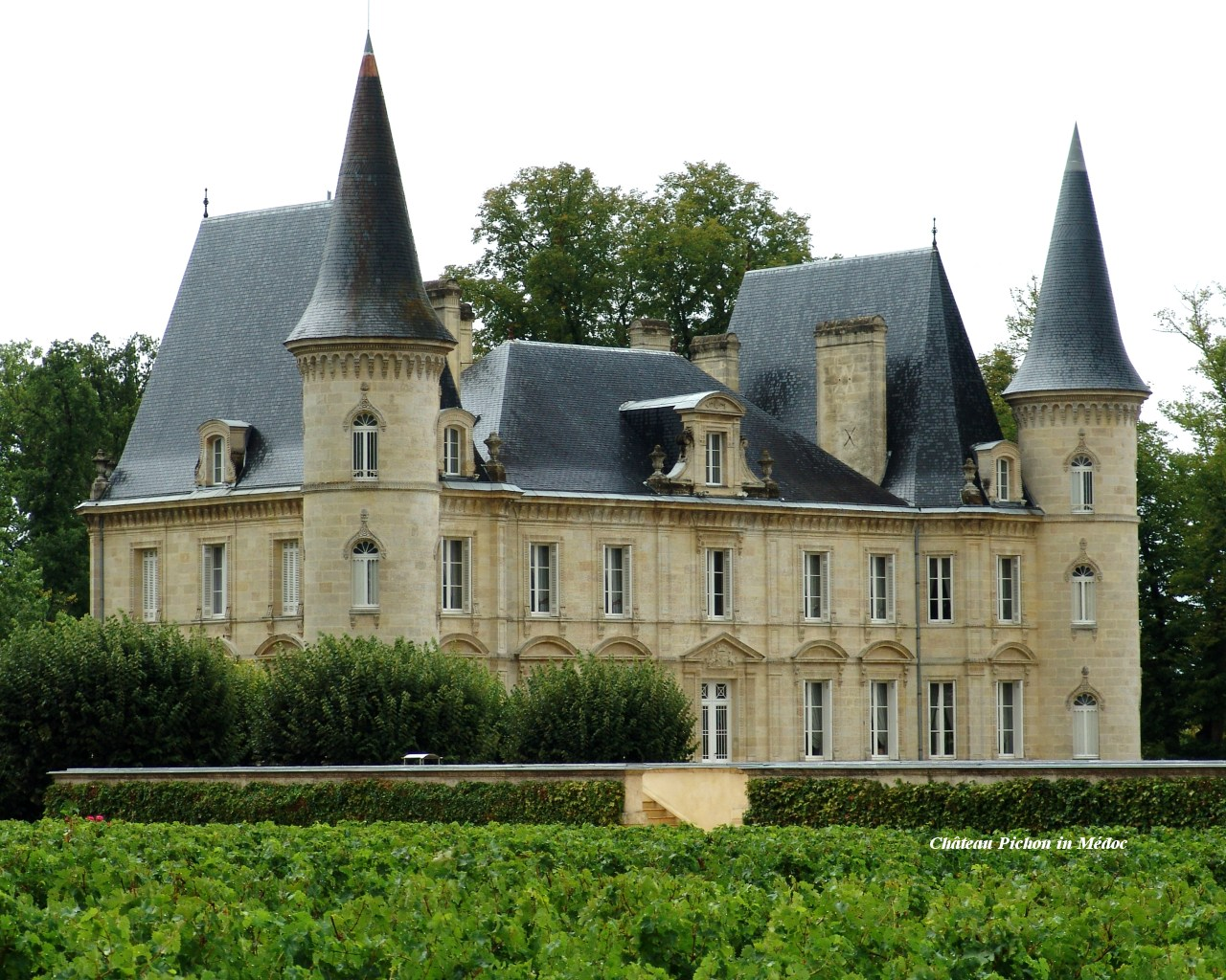 Chateau Pichon in Medoc