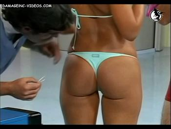 Argentina Celebrity ass close up