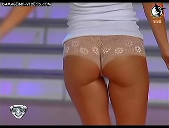 Argentina Celebrity Evangelina Anderson hot ass in thong