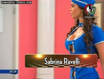 Las tetas de Sabrina Ravelli