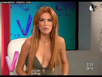 El escote de Viviana Canosa