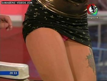 Argentina Playboy Girl Sofia Clerici upskirt
