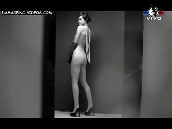 el culo desnudo de Constanza Saravia