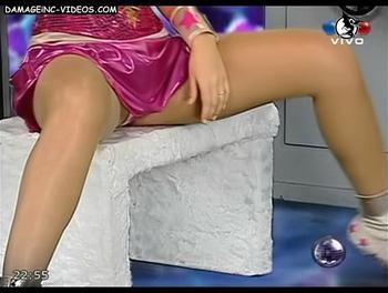 Argentina Top Model Karina Jelinek upskirt
