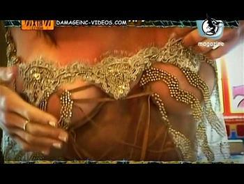 Pamela David tits close up