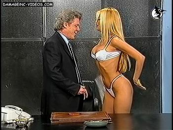 Paula Volpe hot lingerie