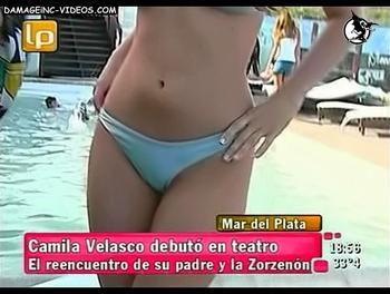 Camila Velasco en bikini