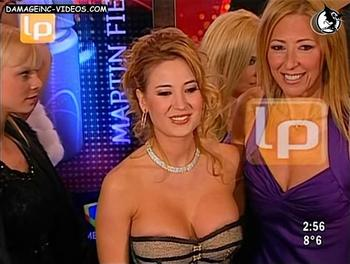 Jesica Cirio deep cleavage